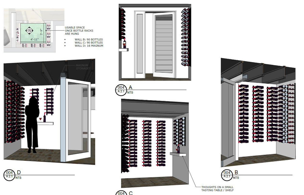 Wine Room Concept