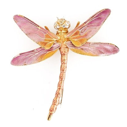 Tiffany & Co. Plique-a-Jour Dragon Fly