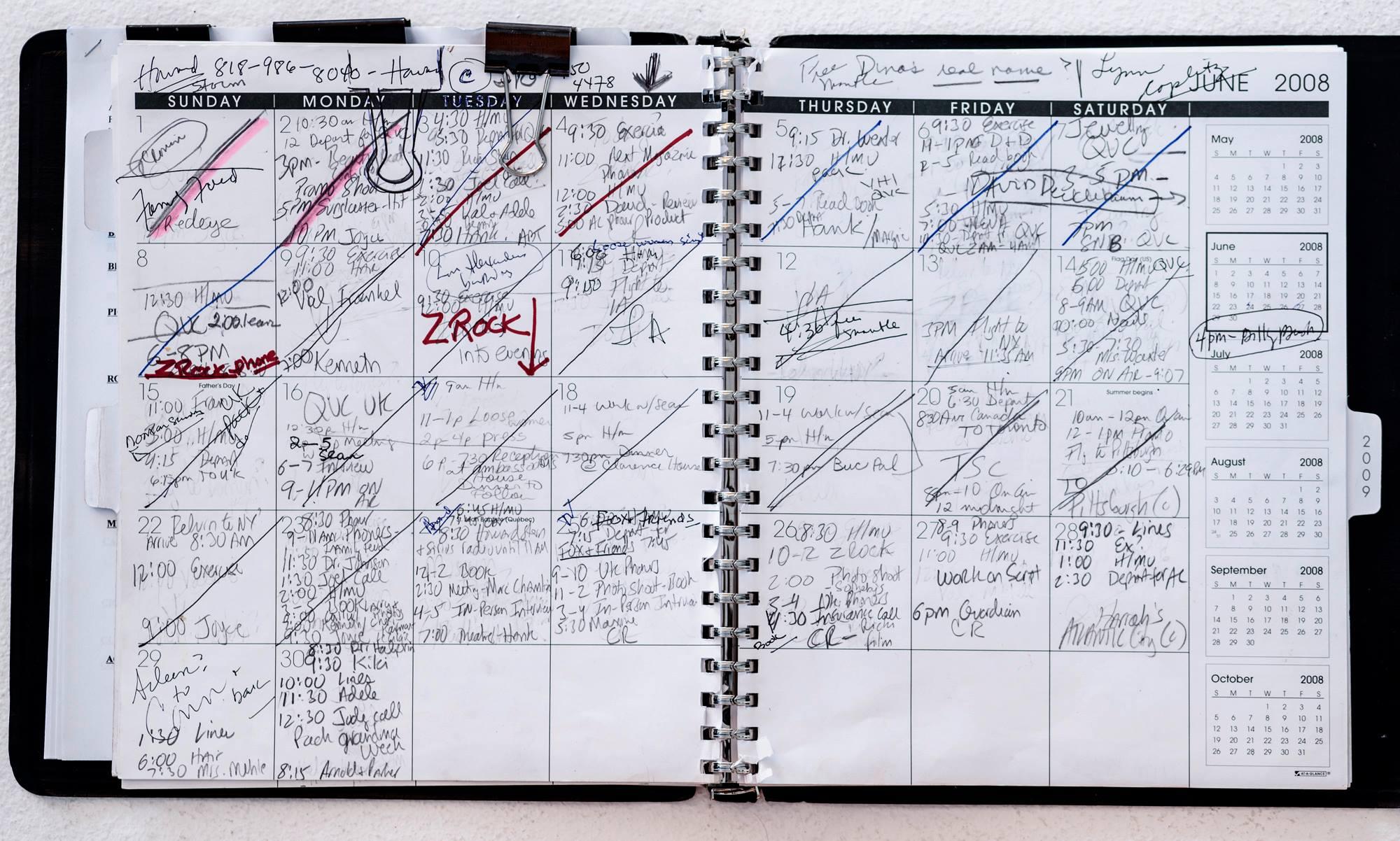 Joan's Calendar