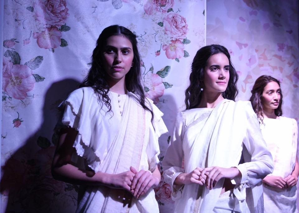 Day 2 of Lakmé India Fashion Week 2017 showcased sustainable fashion, upycyled and recycled outfit. Image: Lakmé India Fashion Week/ Facebook