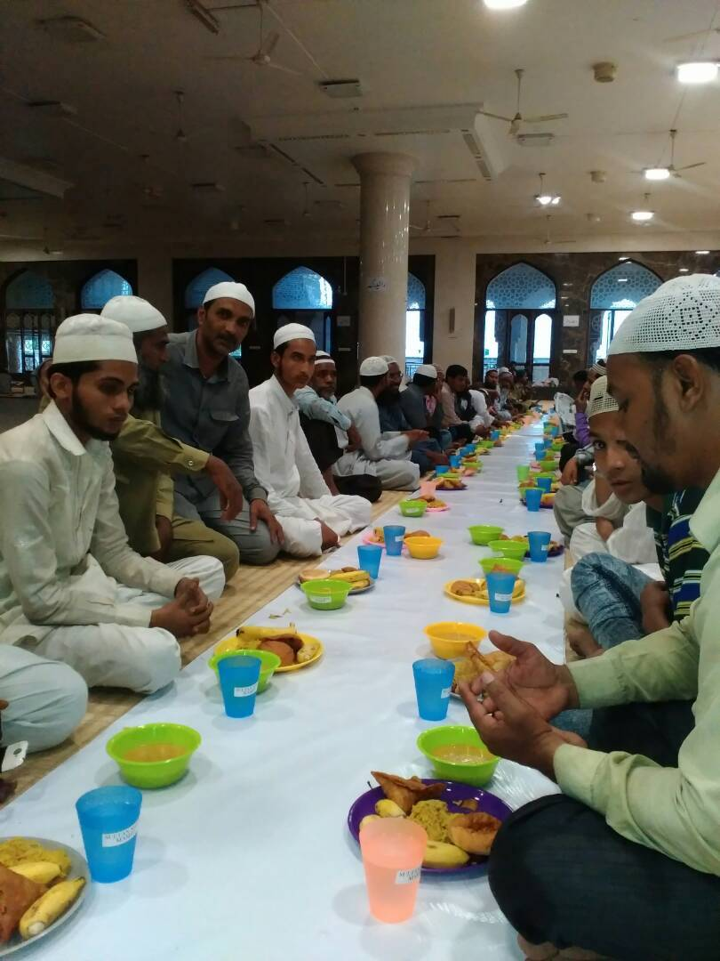 Sufiyan's donation of 10,000 melamine dinner sets helped mosques cut their plastic use in half - hundreds of tons a month!