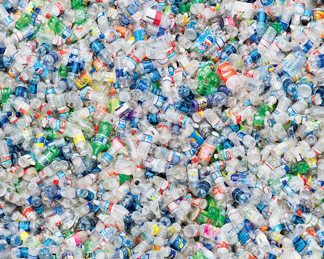 Most single-use plastic bottles end up either in landfills or in the world's oceans.
