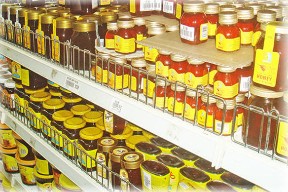 An endless supply of honey in urban markets