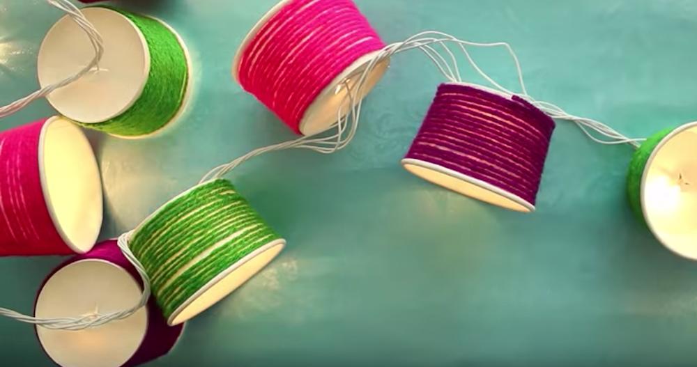 Spotlight On Recycling 10 Gorgeous Diy Lighting Ideas Using