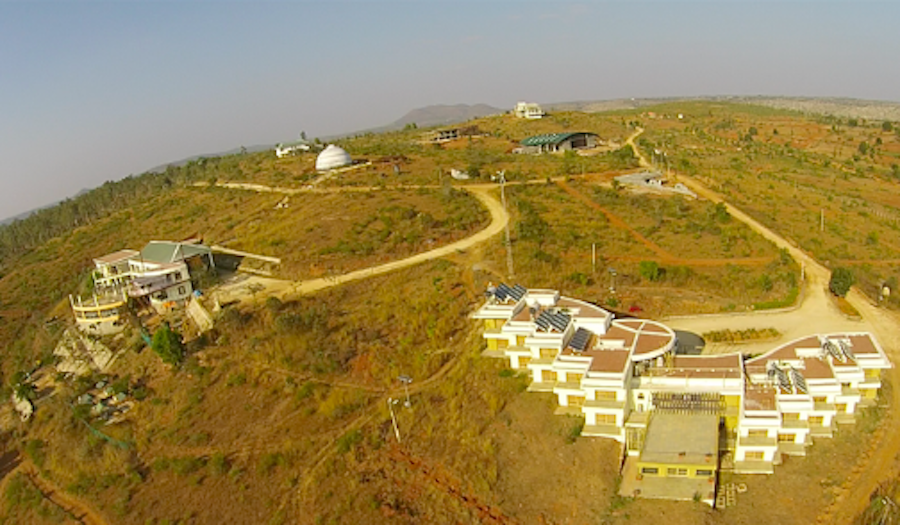 Agastya's Kuppam campus in 2014