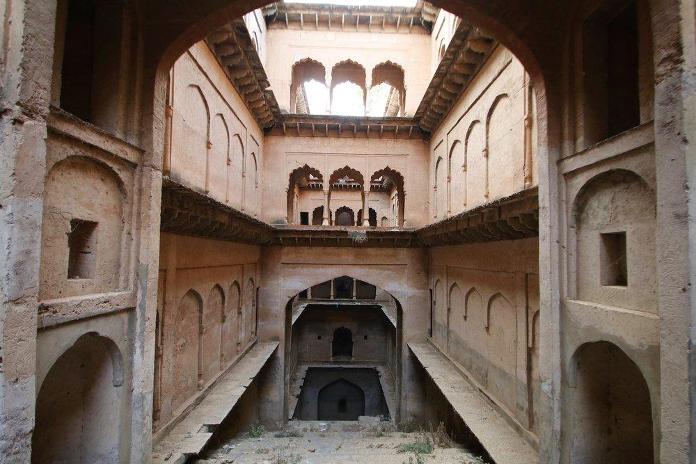 Taseeng Stepwell, Alwar, Rajasthan