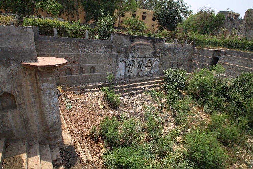 Badshahpur Fort Baoli, Gurgaon, Haryana