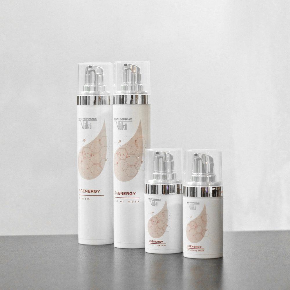 AgEnergy - La linea cosmetica antirughe.Prodotti esclusivi studiati per contrastare efficacemente i segni del tempo.