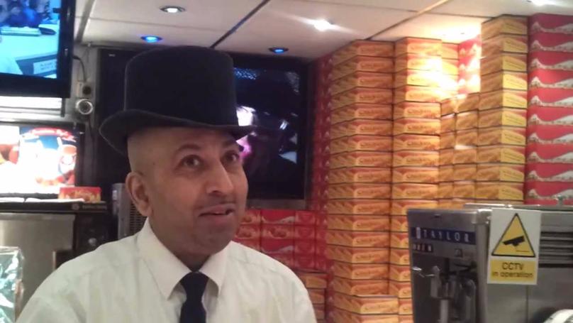 We Met The Backstreet Boys Dancing Chicken Shop Man And He's An Absolute Legend