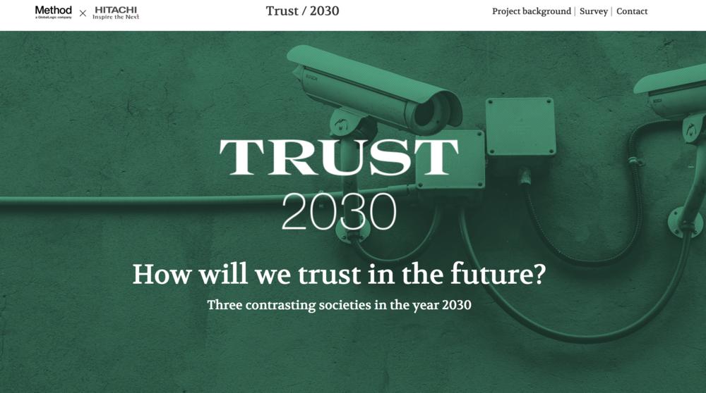 Trust 2030 Microsite