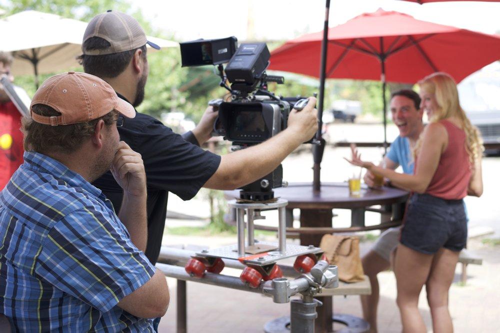 Greg Hudgins (camera) and James Suttles (director)