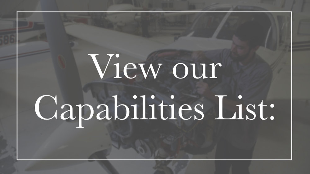Click to View Capabilities - See how we can help regarding maintenance, pitot static, transponders, RVSM, avionics, upgrades and much more. Don't hesitate to call with questions. We can answer your question and help you get what your aircraft needs to keep flying safe!