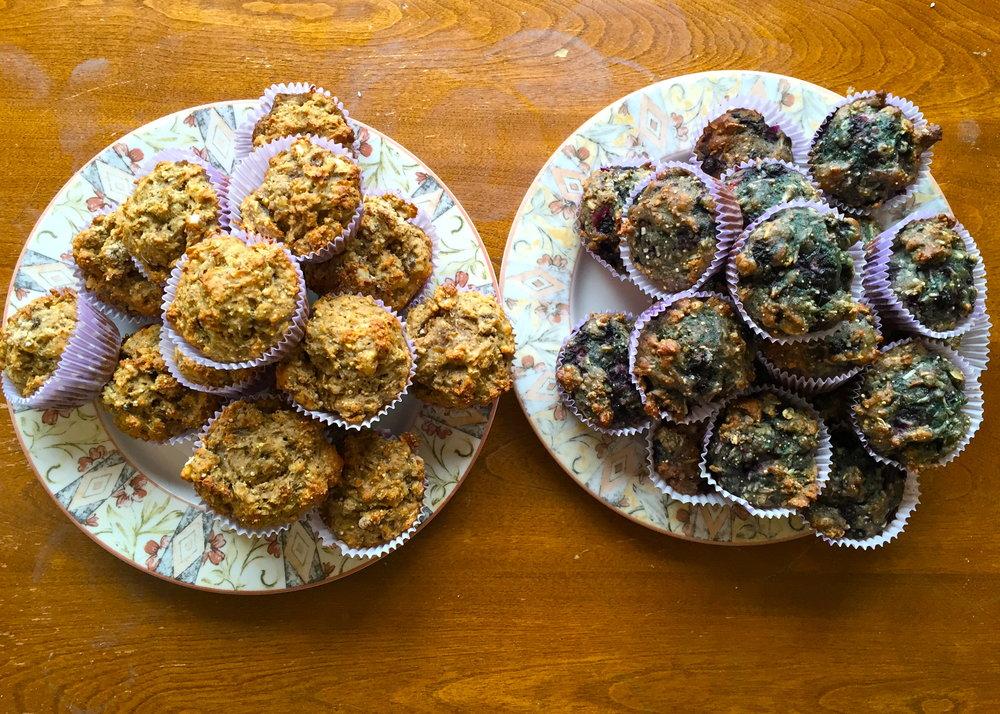 Ochre House muffins