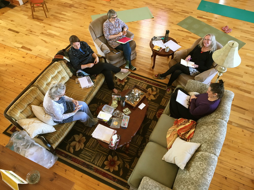Writers Retreat. Somatic Experiencing®