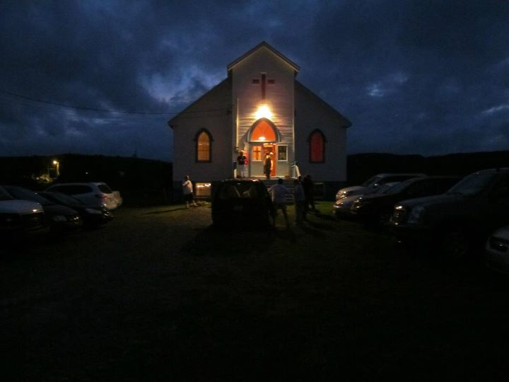 church at dusk 2 Tammy Perry.jpg