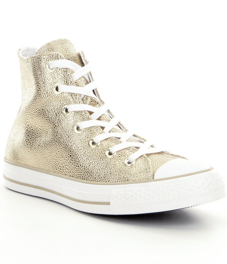 Converse All-Star Metallic Stingray $80