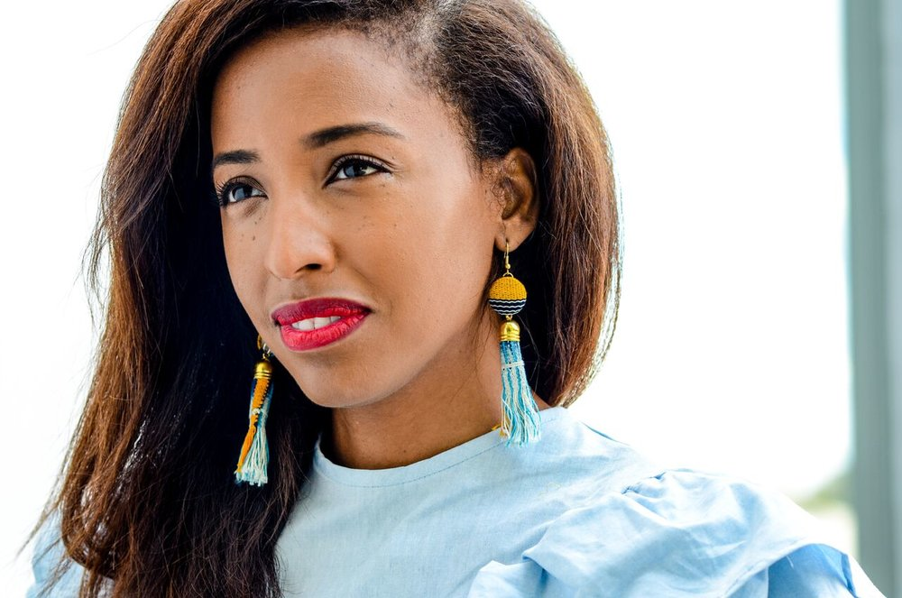 Earrings by Deanne Juanita