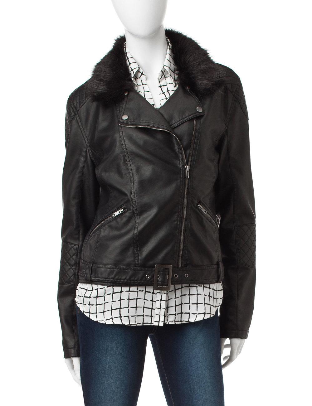 YMI Faux Leather Jacket
