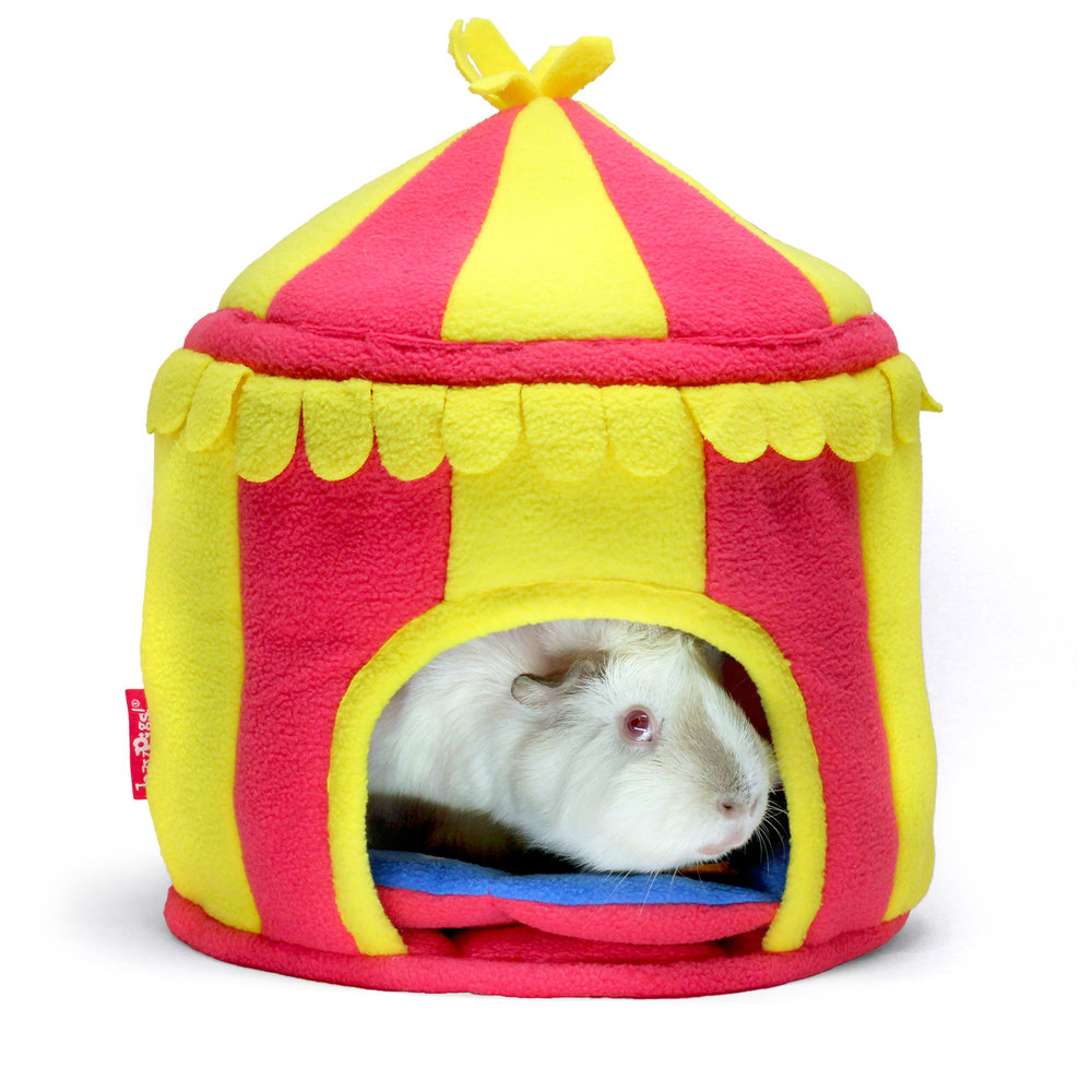 HayPigs!® Circus Hidey Hut™ - Fleece Hidey Hut