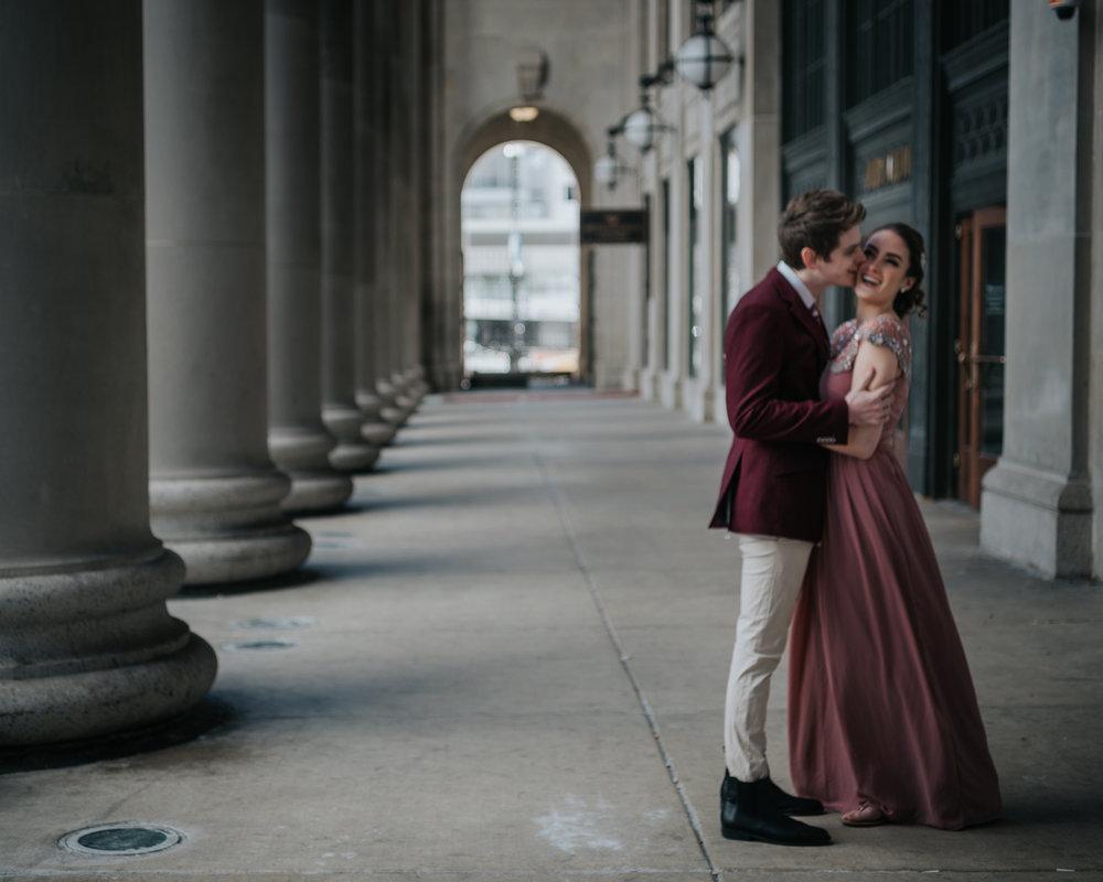 engagement photography | chicago union station
