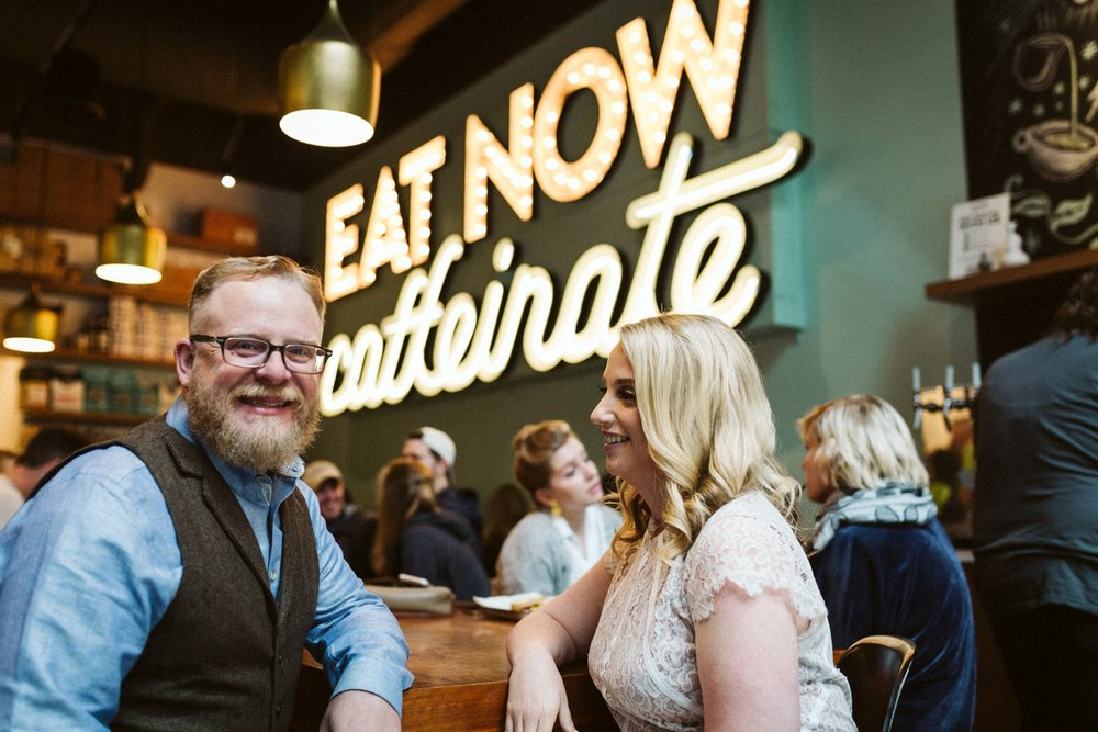 Goddess and the Baker | Chicago elopement | lisa kathan photography
