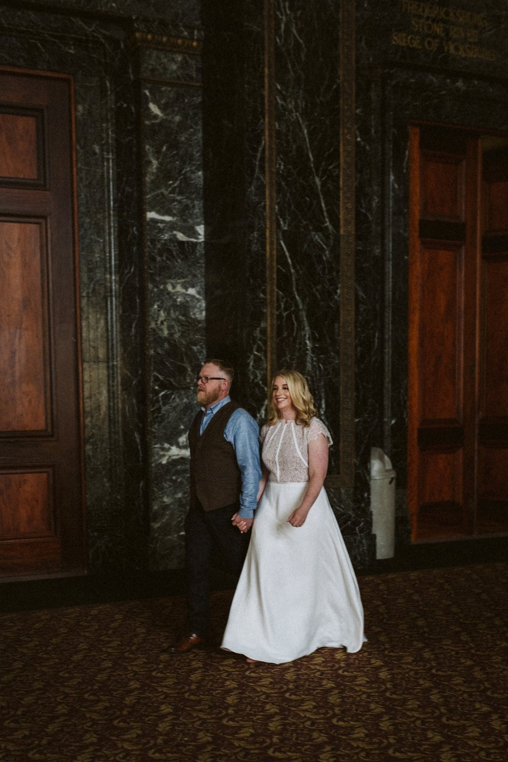 Chicago Cultural Center wedding | Chicago elopements | lisa kathan photography