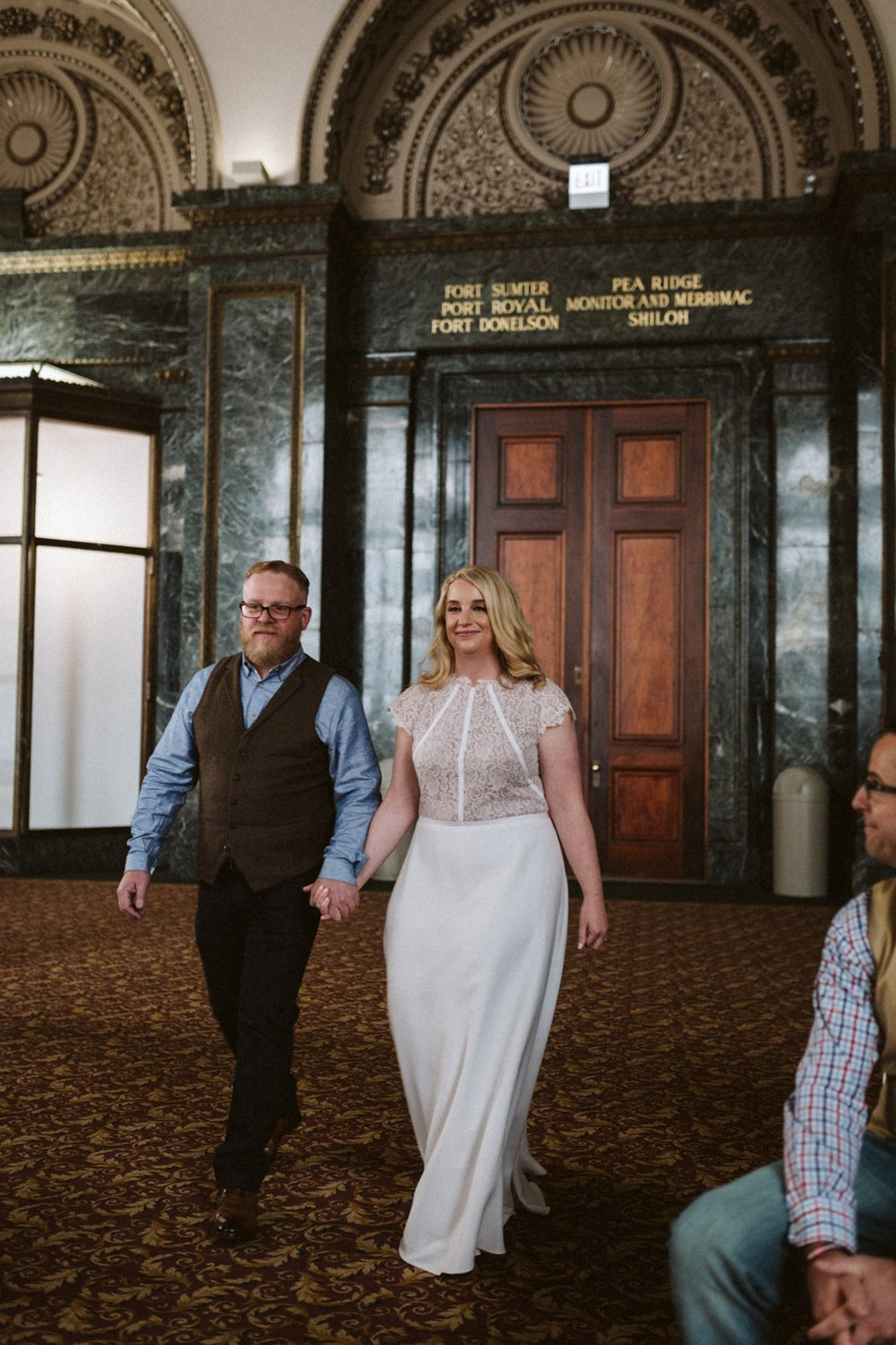 Chicago Cultural Center wedding | Chicago elopement | lisa kathan photography