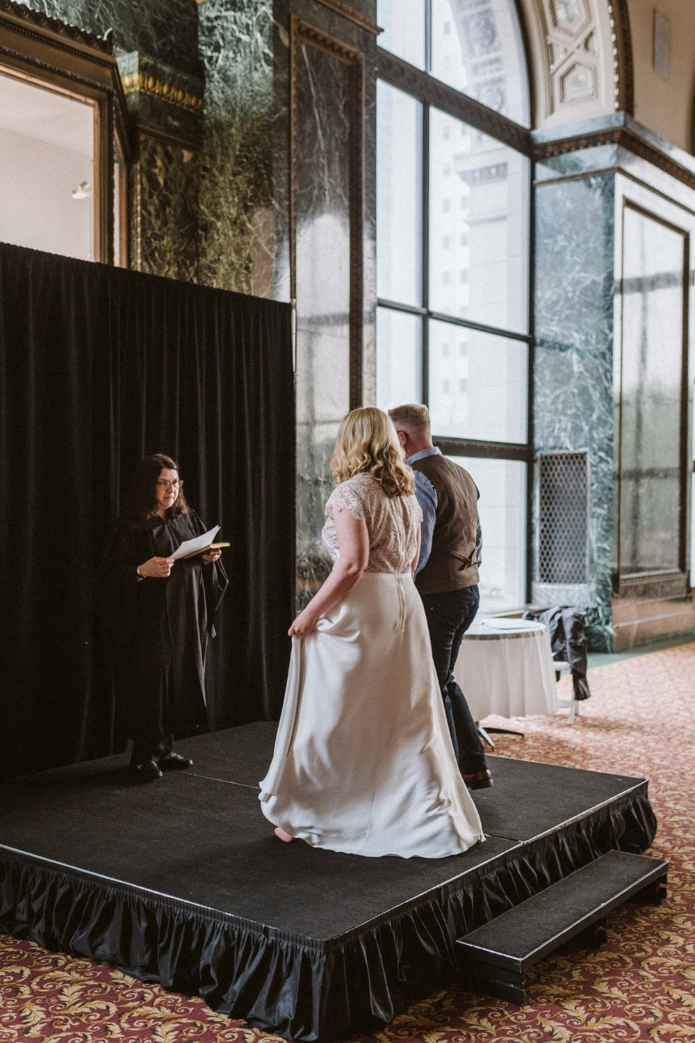 Chicago Cultural Center weddings | Chicago elopements | lisa kathan photography