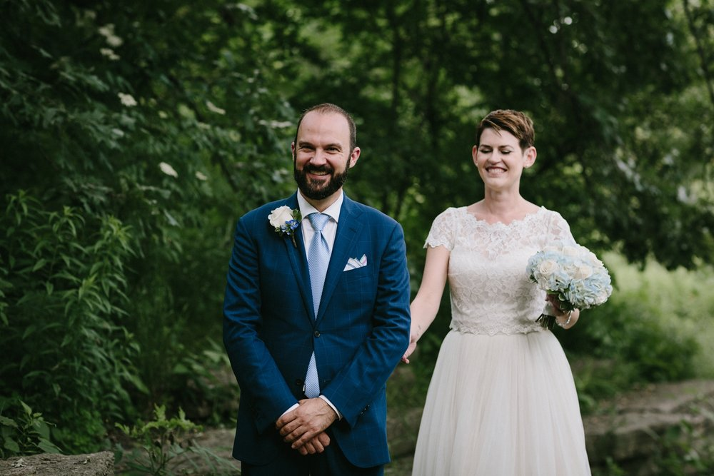 intimate wedding | alfred caldwell lily pond wedding | lisa kathan photography