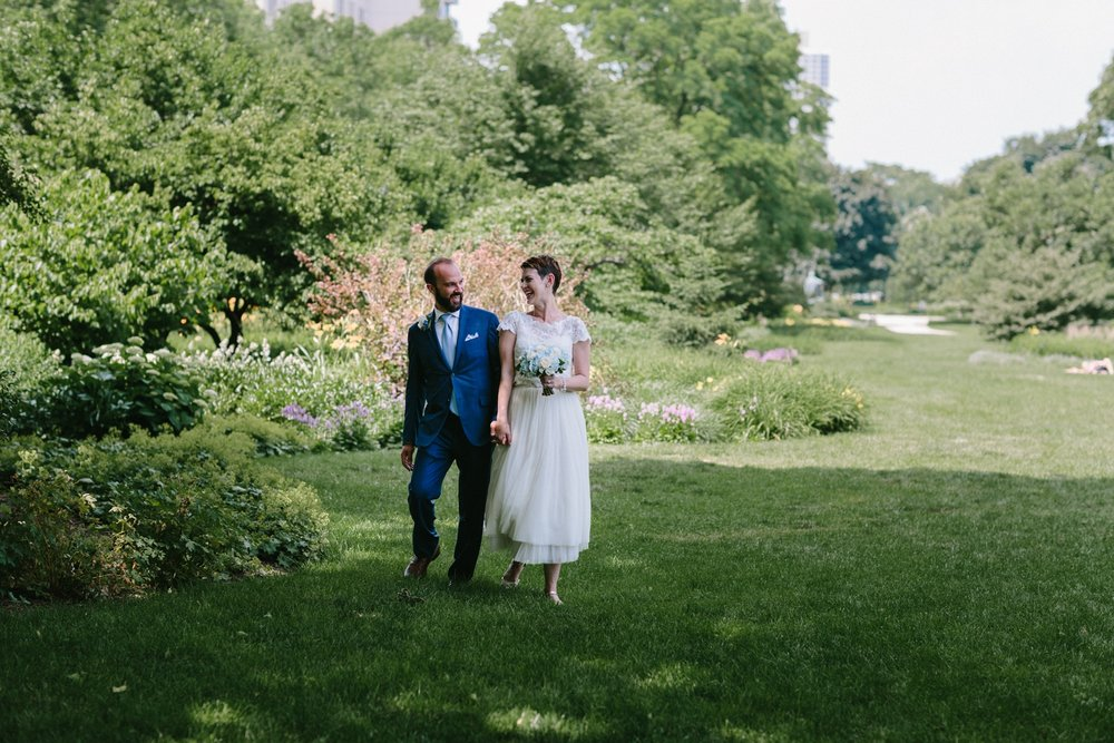 elopement | lincoln park wedding | lisa kathan photography