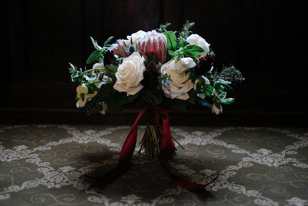 flowers at Barrington's White House
