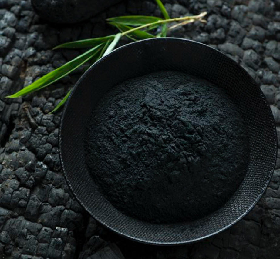 Activated Charcoal Activated charcoal draws bacteria, poisons, chemicals, dirt and other micro-particles to the surface of skin, helping you to achieve a flawless complexion and fight  acne .