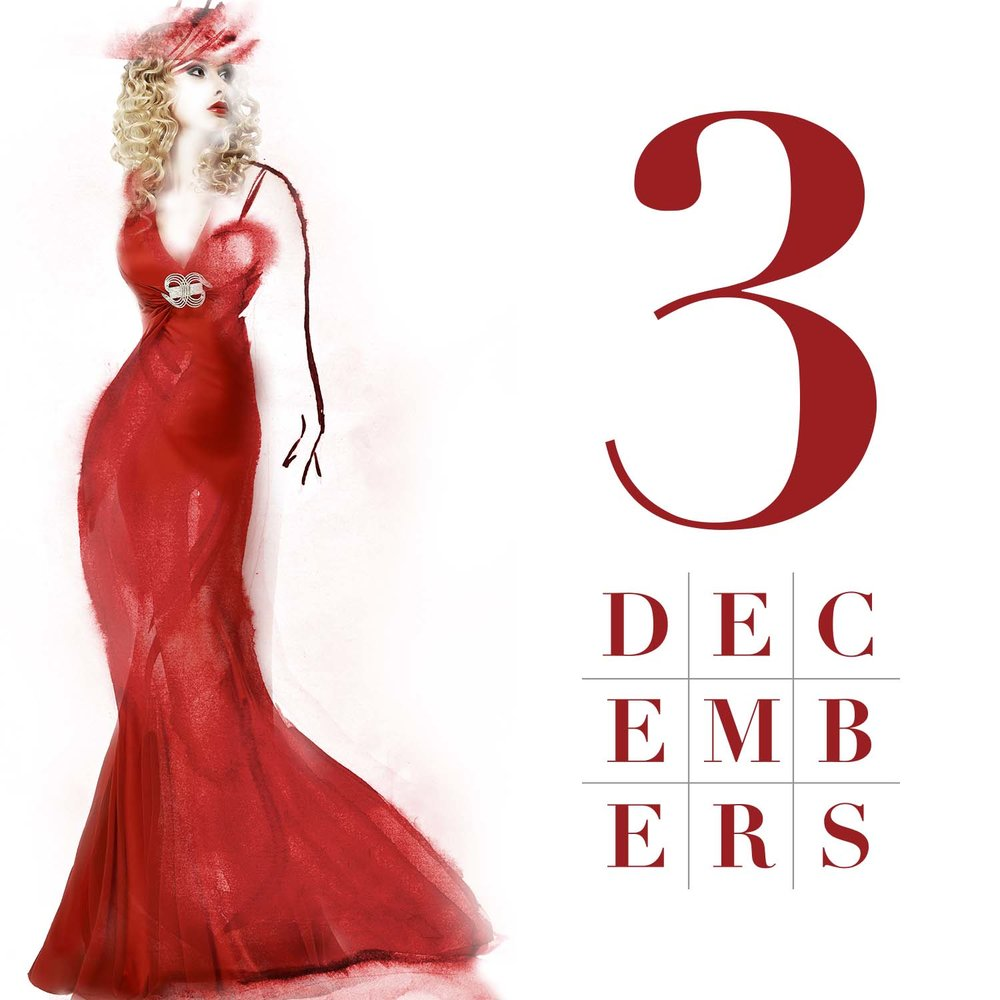 Three Decembers | Friday, January 20, 2017 at 7:30 P.M. and Sunday, January 22, 2017 at 2:30 P.M. | Red Mountain Theatre Cabaret