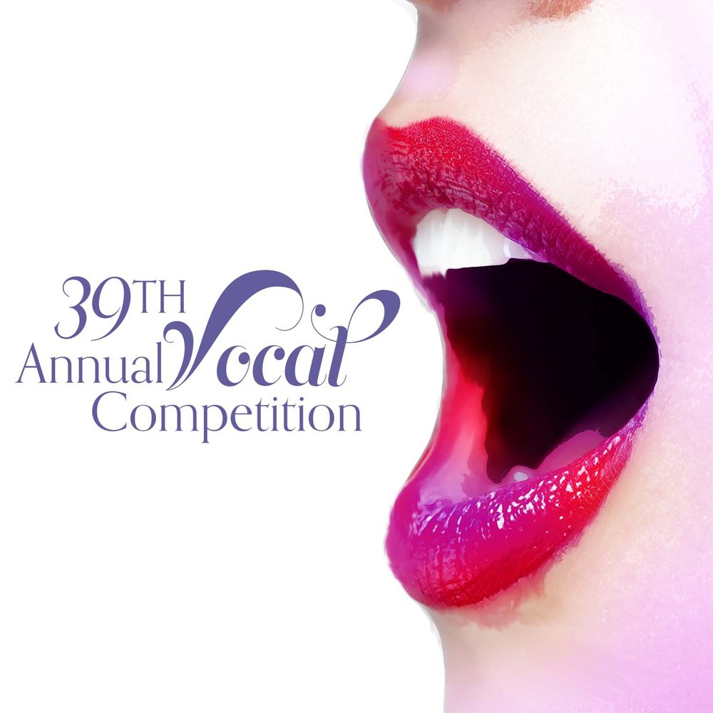 39th Annual Vocal Competition Graphic (2017)