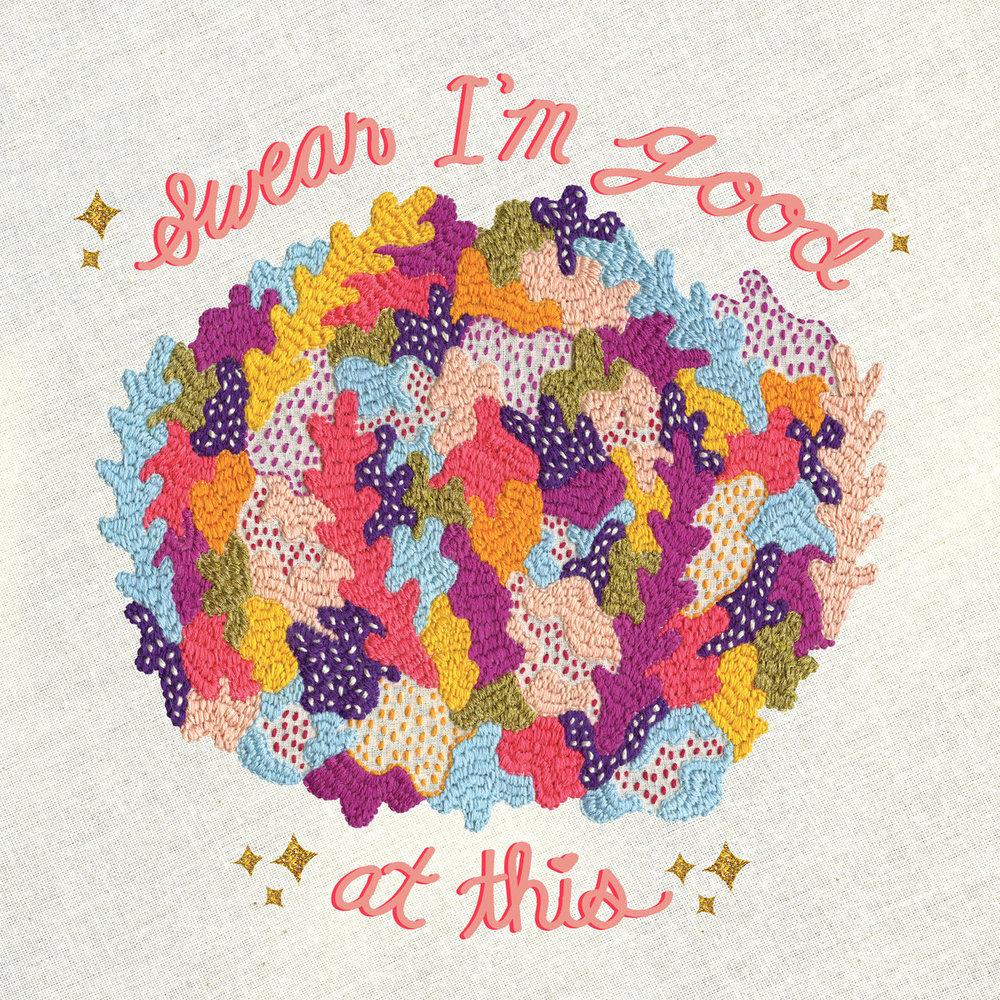 Diet Cig - Swear I'm Good at This Album Cover.jpg