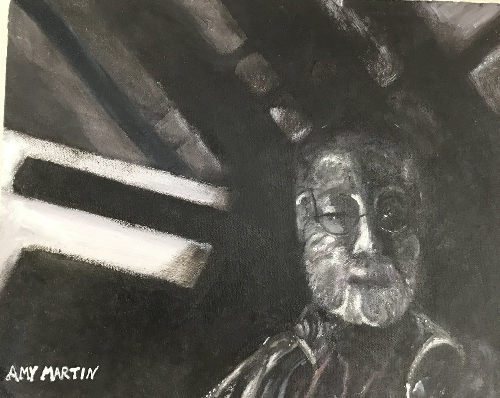 Man in Attic (Sold)
