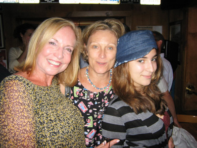 With Kaylie Jones, author of Lies My Mother Never Told Me, and daughter, 2010