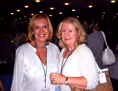 With Annette Gallagher Weisman