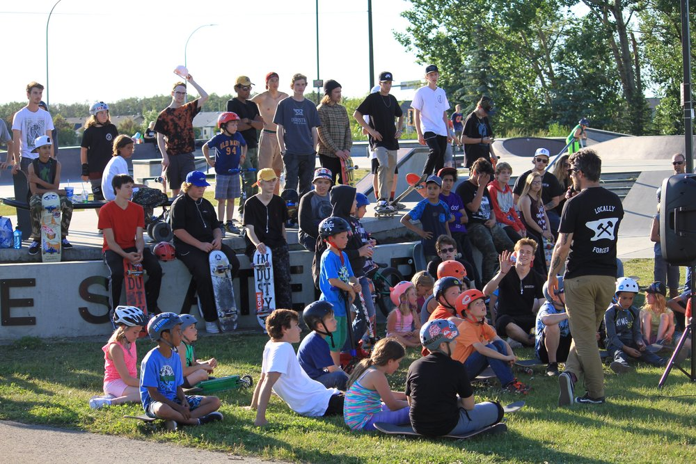 The Mi Casa Su Casa event saw individuals from various walks of life come together for a day of skateboarding and community. Recently arrived families from Syria joined the festivities and Academy hosted a Halal bbq to celebrate the end of Ramadan.