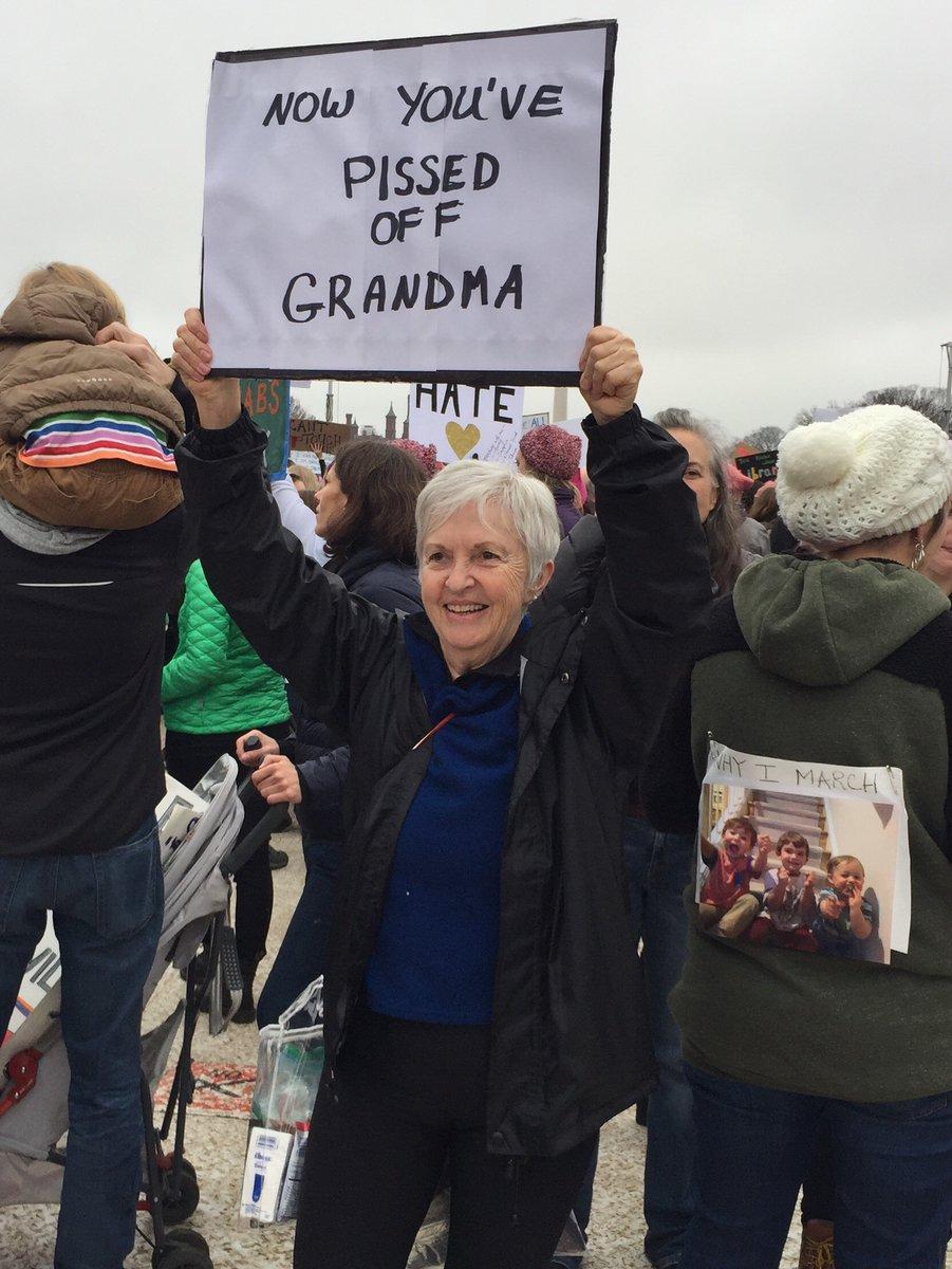tom tollen womens march