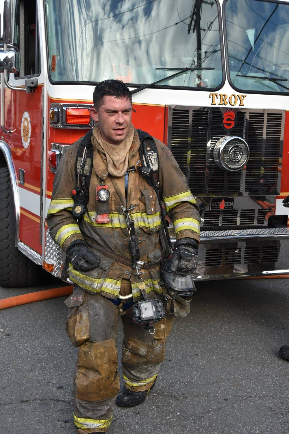 Matt Dudek  Troy, NY Fire Dept.