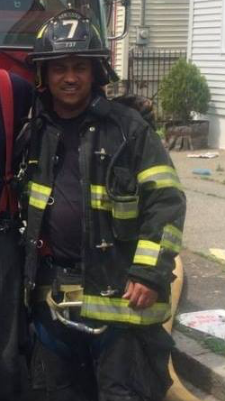 Vinnie Carrington, Jr.  Albany, NY Fire Dept.