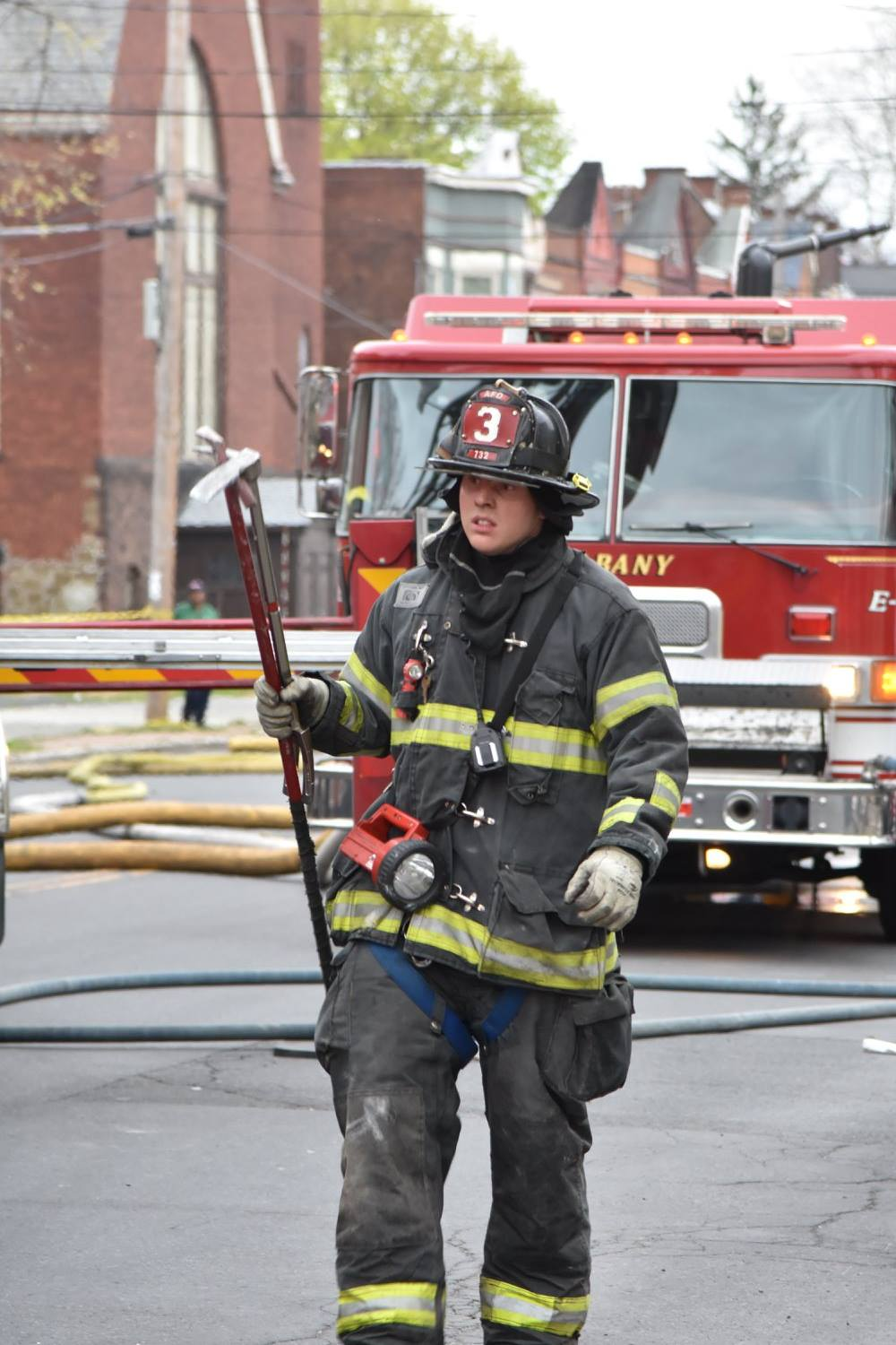 Chris Cummings  Albany, NY Fire Dept.