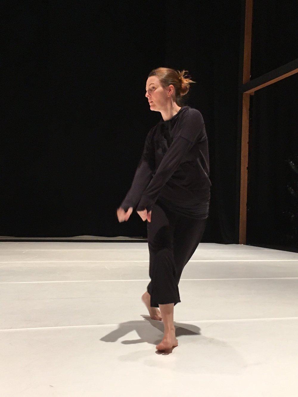 Angie Hauser, Dance Artist
