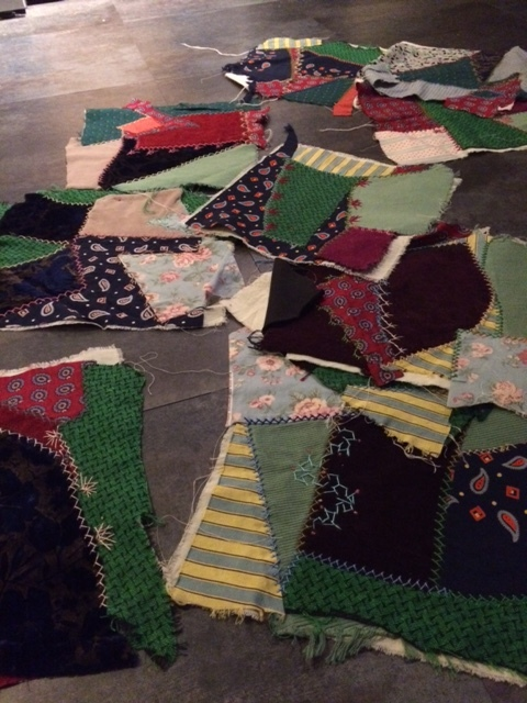 Sue's Quilts in Process