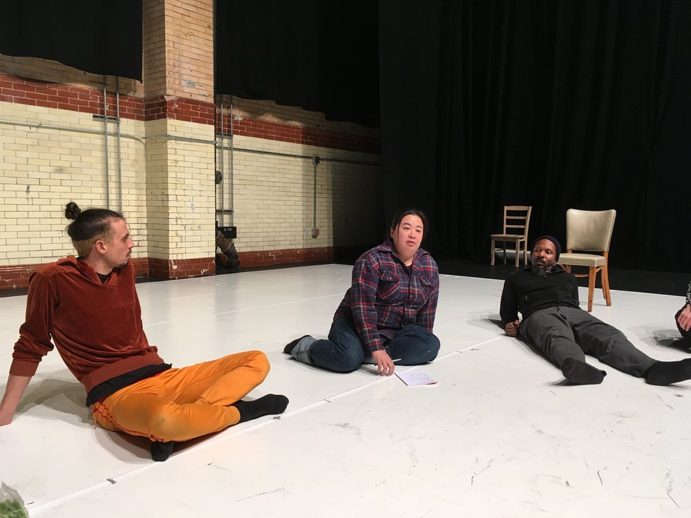 The Making Room Production Residency, Philadelphia, January 2018
