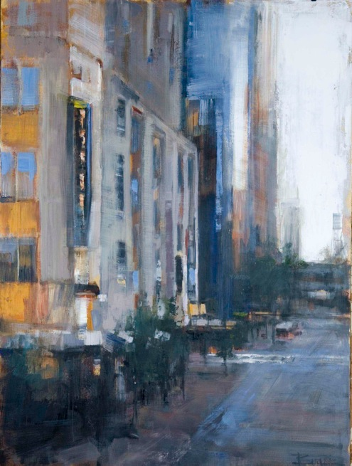 Urban Mystique 60x36 Curt Butler