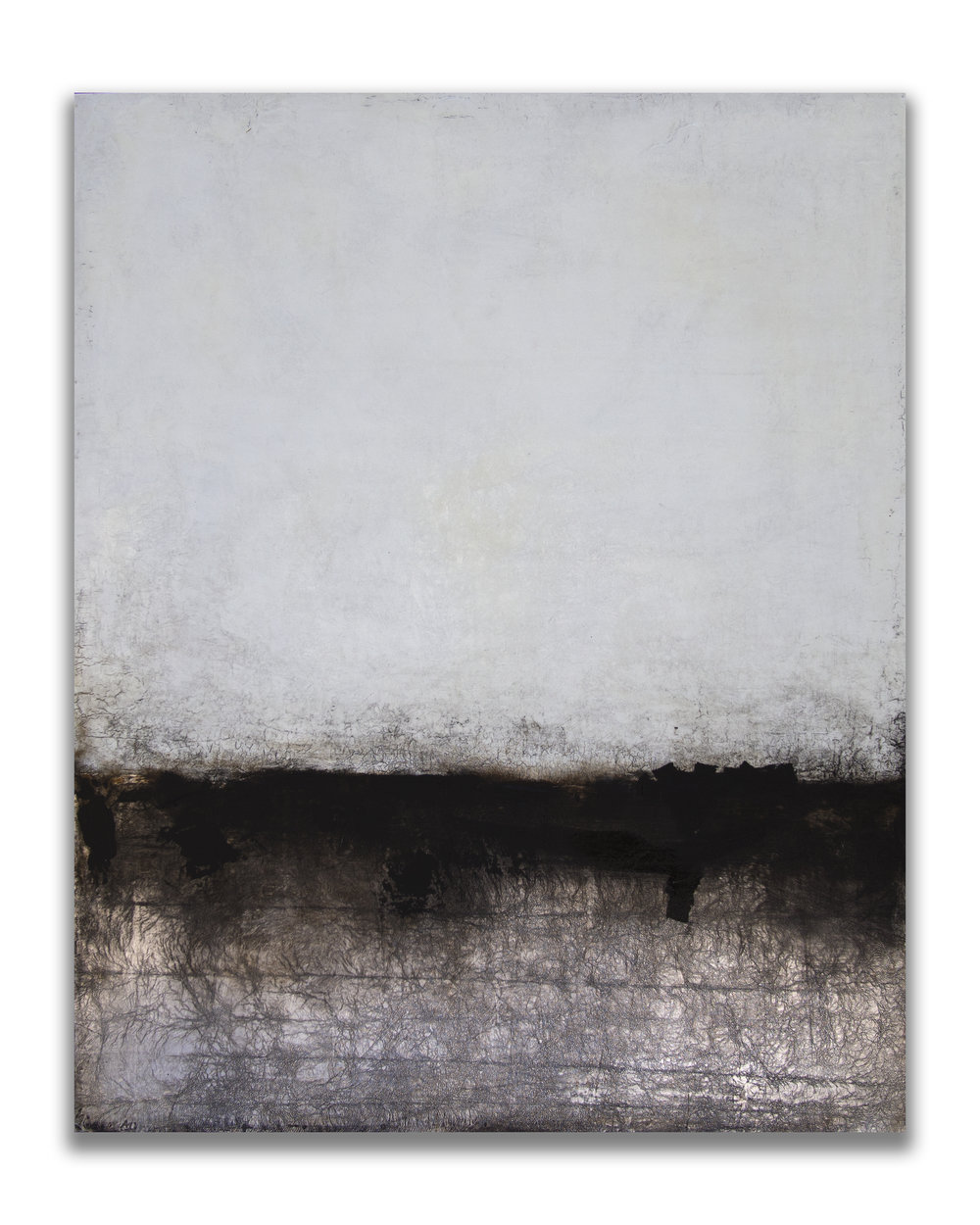 Salt & Shadow | Robert Boyd | 60x48 | Mixed Media on Panel