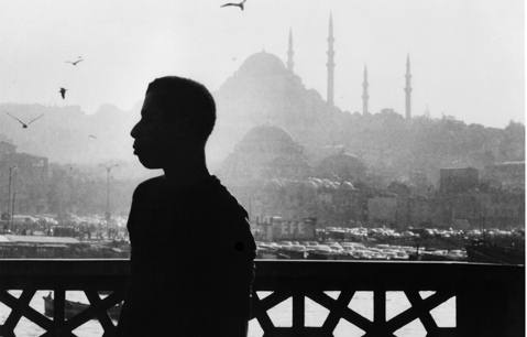 James Baldwin in Istanbul (modern day Constantinople).