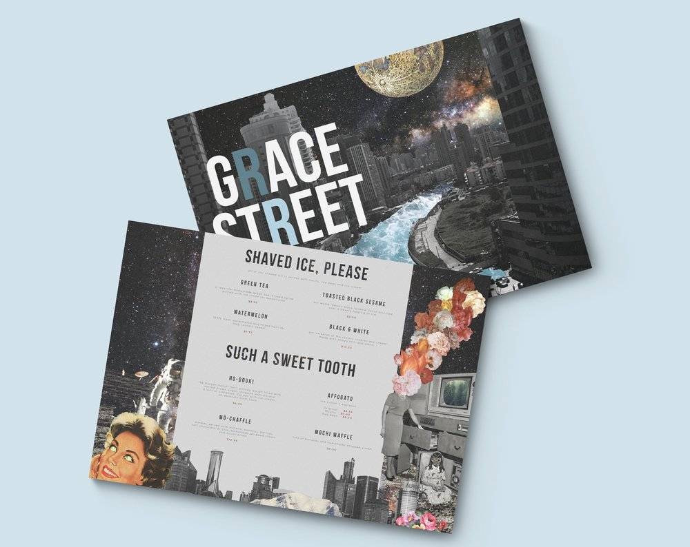 Grace Street Menu